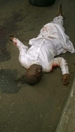 A man was found killed and dumped on Mile 2 road,  Lagos