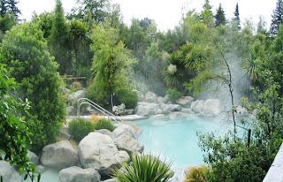 Hanmer springs, thermal baths