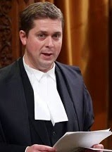 The Dishonourable Sleveen Andrew Scheer, M.P. Speaker of the House of Commons.