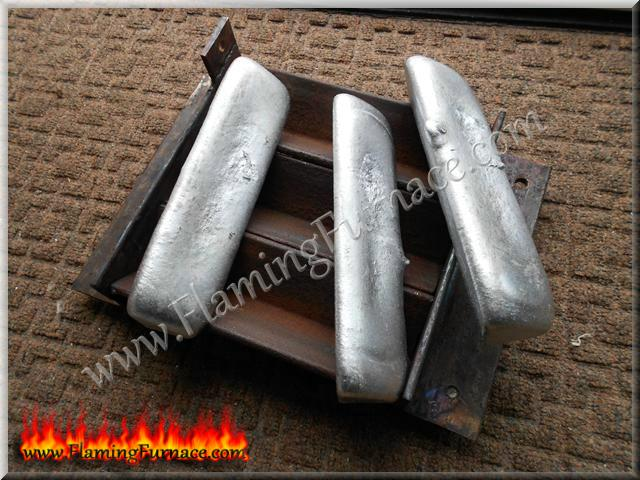 easy to remove aluminum ingots