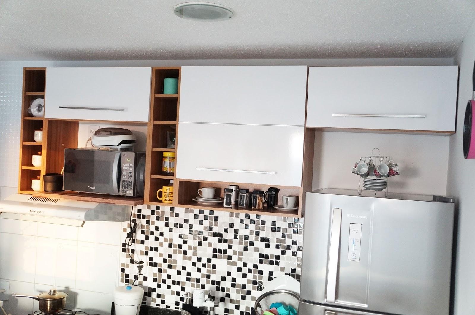 Fernanda Calheiros BLOG: Minha cozinha casas bahia Bartira Glamour #9E642D 1600 1061