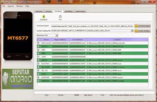 Cara Flash Advan S4 Mudah Dengan PC