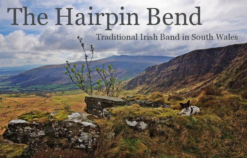 Hire a Live Irish Folk Band in South Wales: The Hairpin Bend