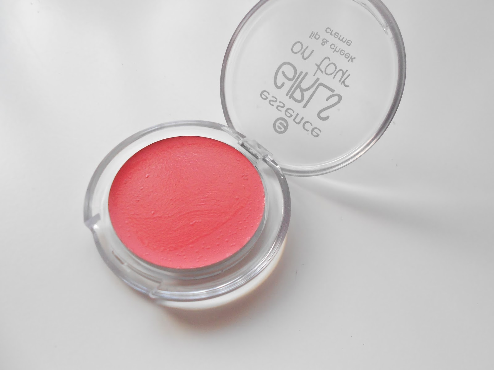 Girls on Tour Lip and Cheek Creme from Essence Cosmetics in the shade 'Big Apple'.