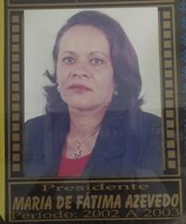 01/01/2003 - MARIA DE FÁTIMA AZEVEDO