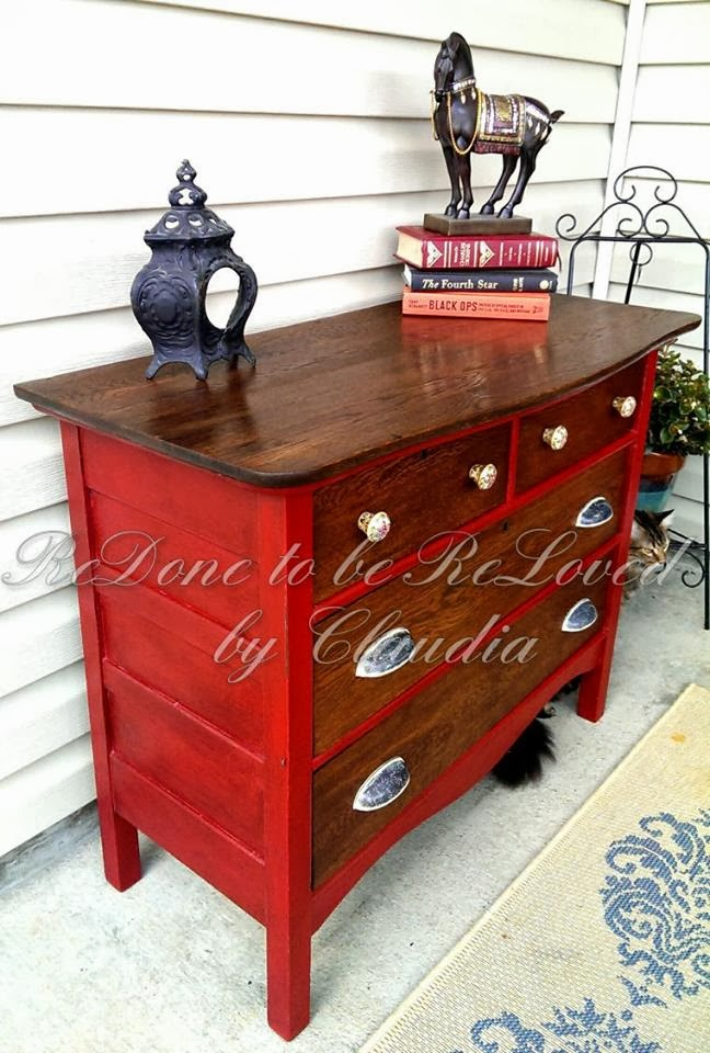 ReDone To Be ReLoved Antique Dresser Refinished And