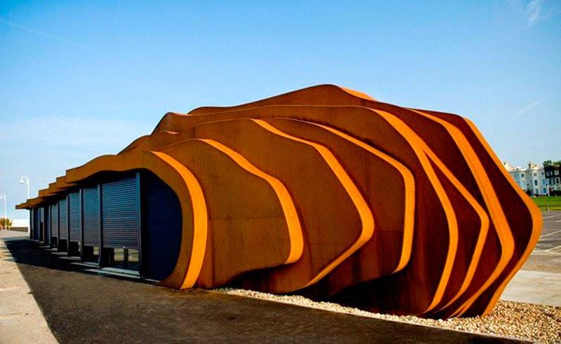 Tendencias en arquitectura org nicas estructuras for Estructuras arquitectonicas