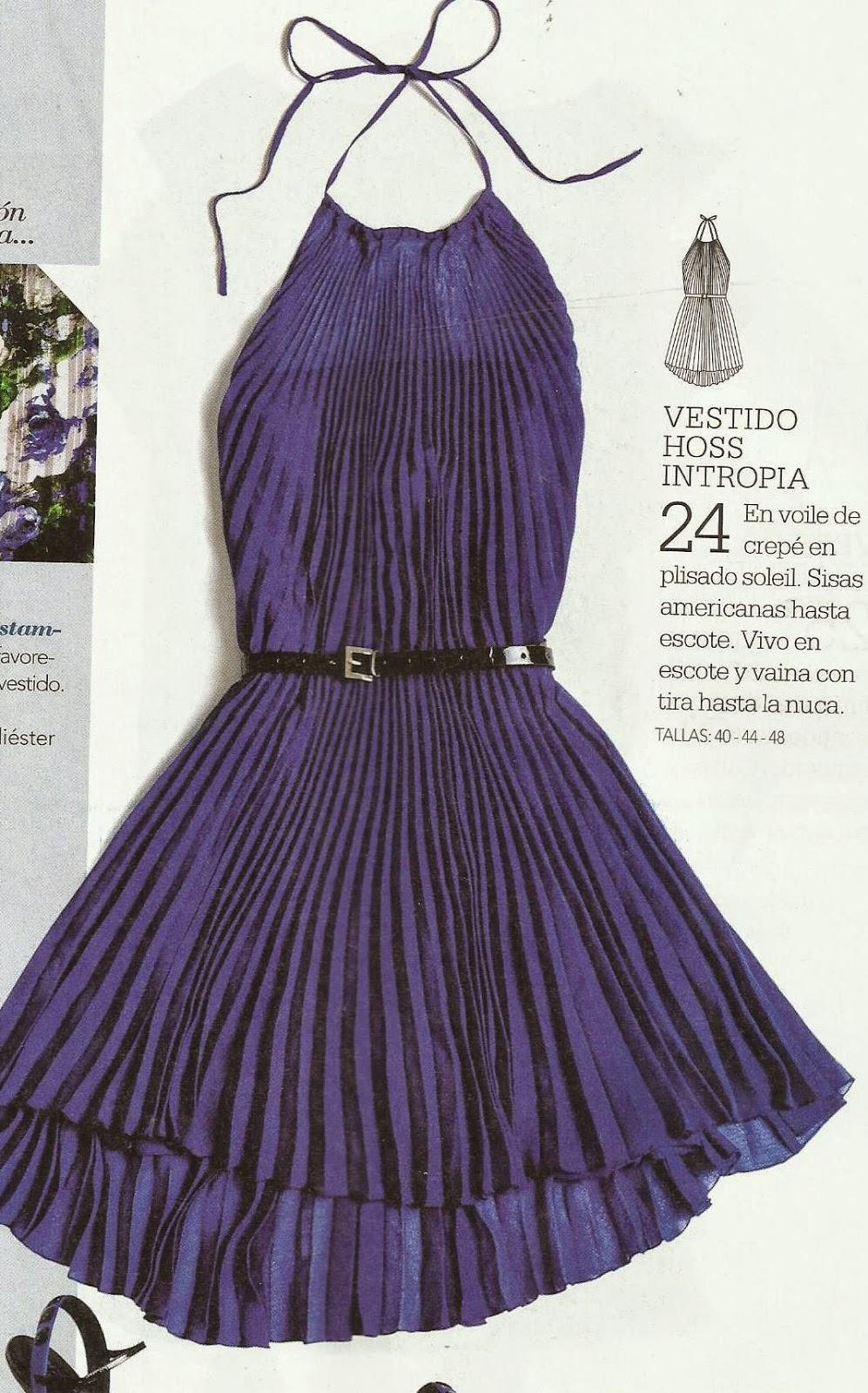 Corte y confeccion de vestido drapeado