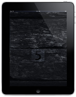 Dark iOS 5 iPad and iPad 2 Wallpapers