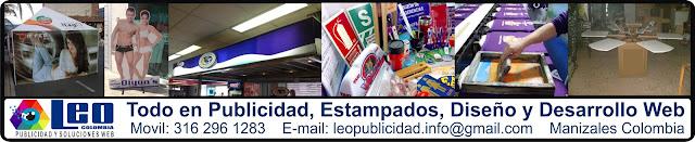 Publicidad y Estampados en Manizales