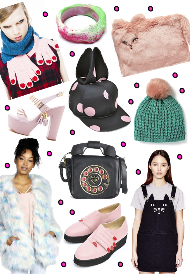 friday favourites, fake fur, kawaii fashion