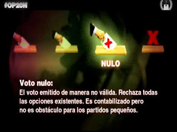 Anonymous: Operación 20N