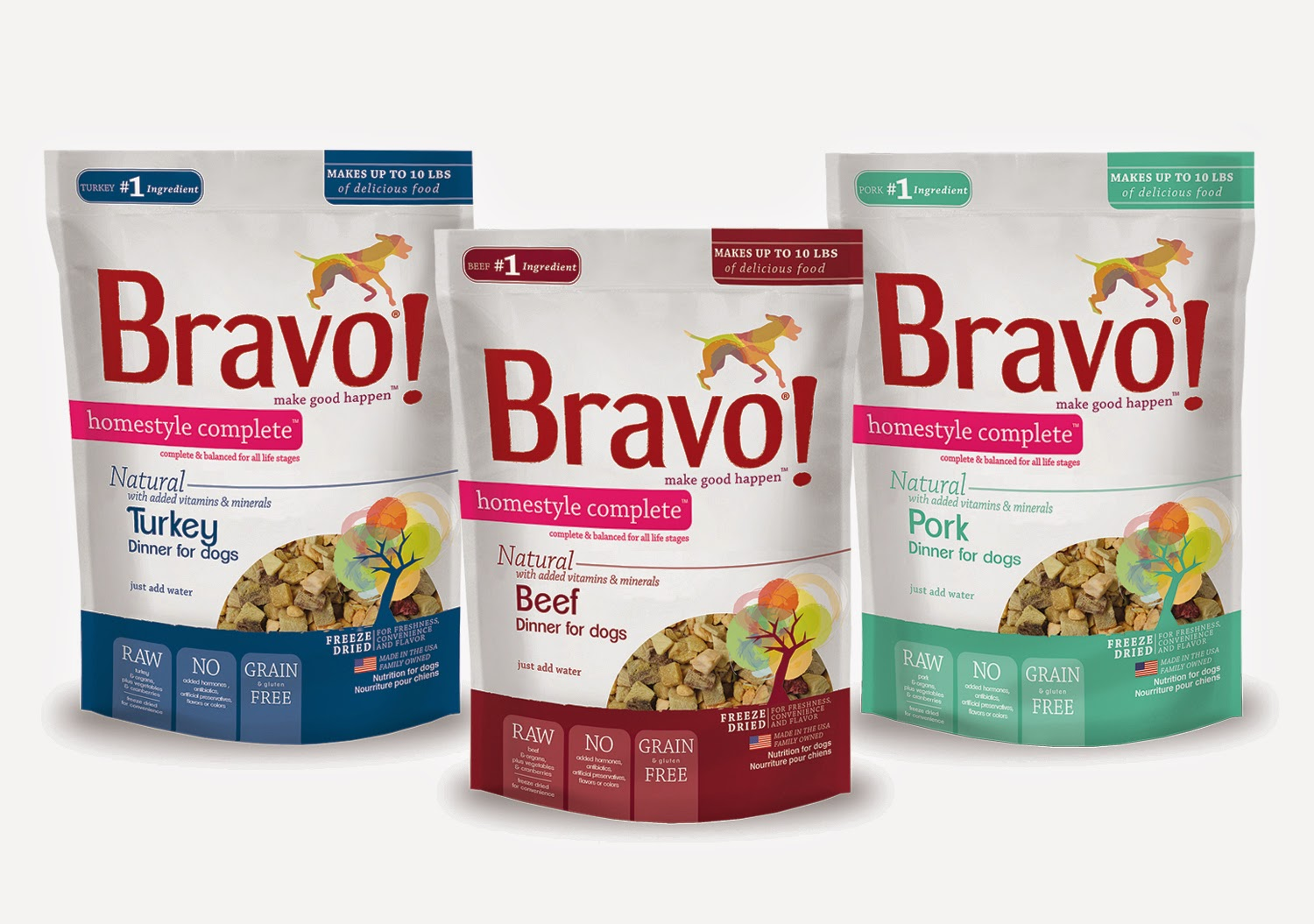 http://www.newbravopetfood.com/homestyle_complete_family.html