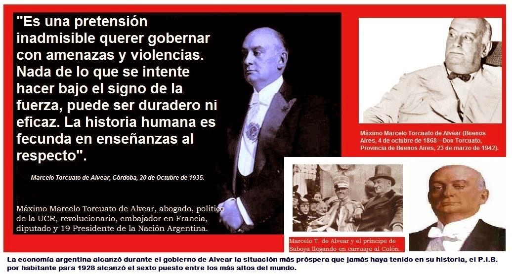 Marcelo T. de Alvear y las formas de gobernar.