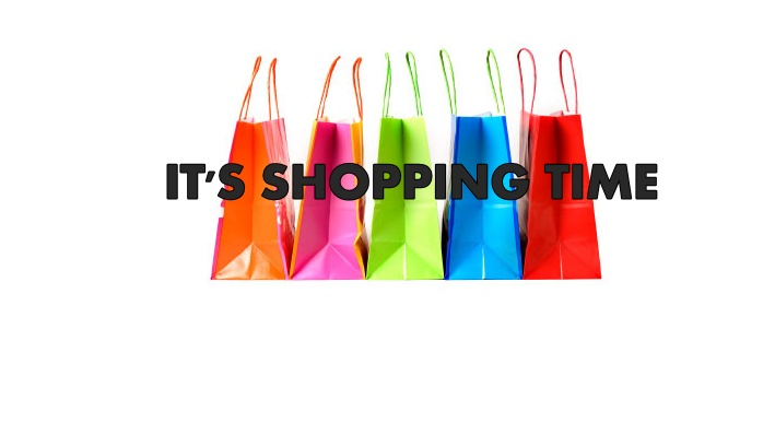 IT'S SHOPPING TIME