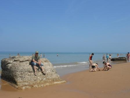 Badeferie i normandie