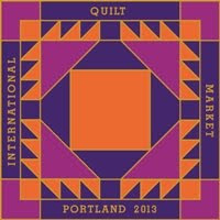 It&#39;s here! Blogging from Quilt Market in Portland..