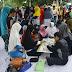Ratusan Orang Rela Mengantri Cek Kesehatan PKS