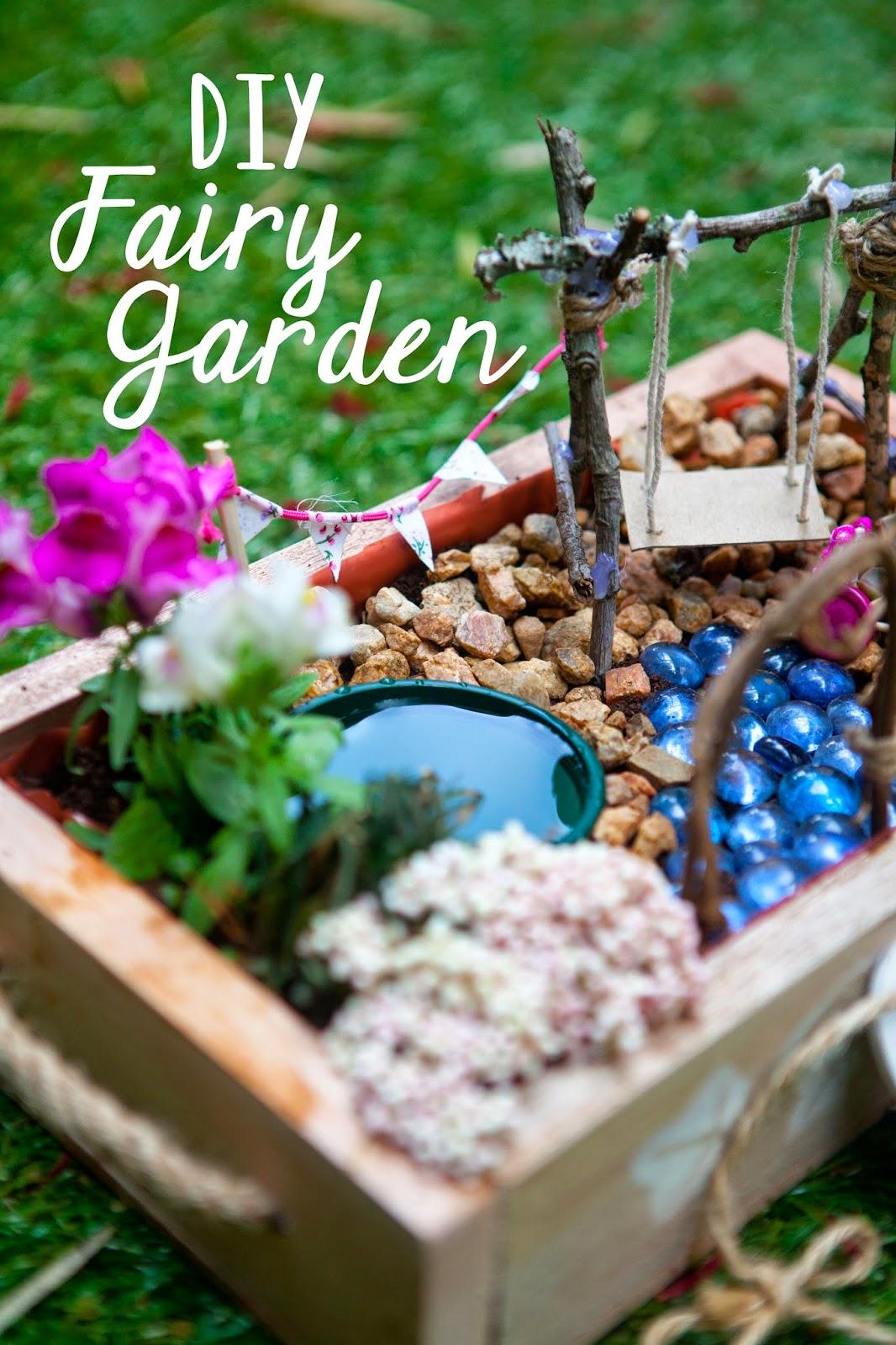 Floral Philosopher DIY Fairy Garden in a Box