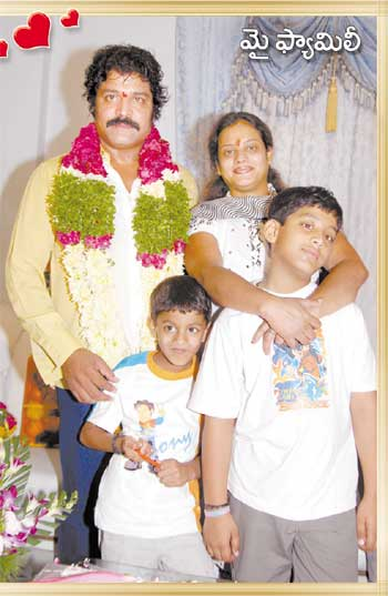 Actor Srihari Family
