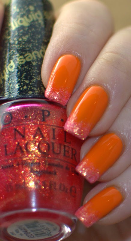 Face of Australia Some Like It Hot with OPI Jinx