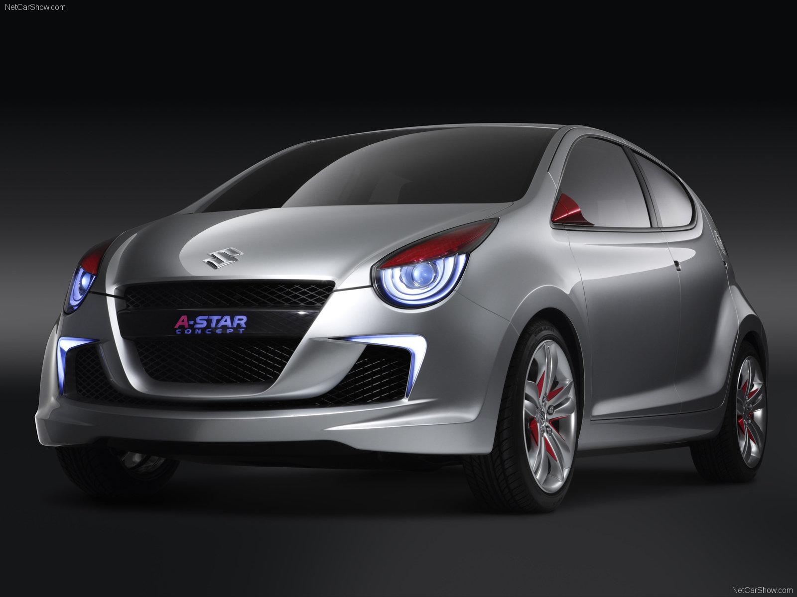 Hình ảnh xe ô tô Suzuki A-Star Concept 2008 & nội ngoại thất