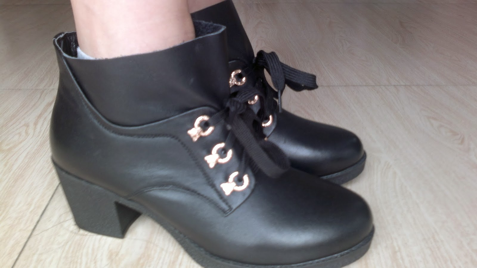 Black Ankle Boots 1