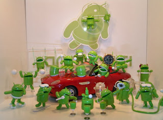 Androski - Android action figures from Korea