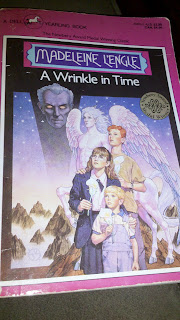a typical teenager in the course of madeleine l engles a wrinkle in time A wrinkle in time is a science fantasy novel written by american writer  madeleine l'engle, first  in the course of conversation, mrs whatsit casually  mentions there is such a thing as a tesseract, which causes katherine to   however, she does once take on the appearance of a traditional witch with a  black hat and broom.