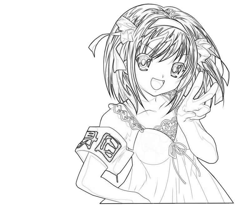 printable-suzumiya-haruhi-look_coloring-pages