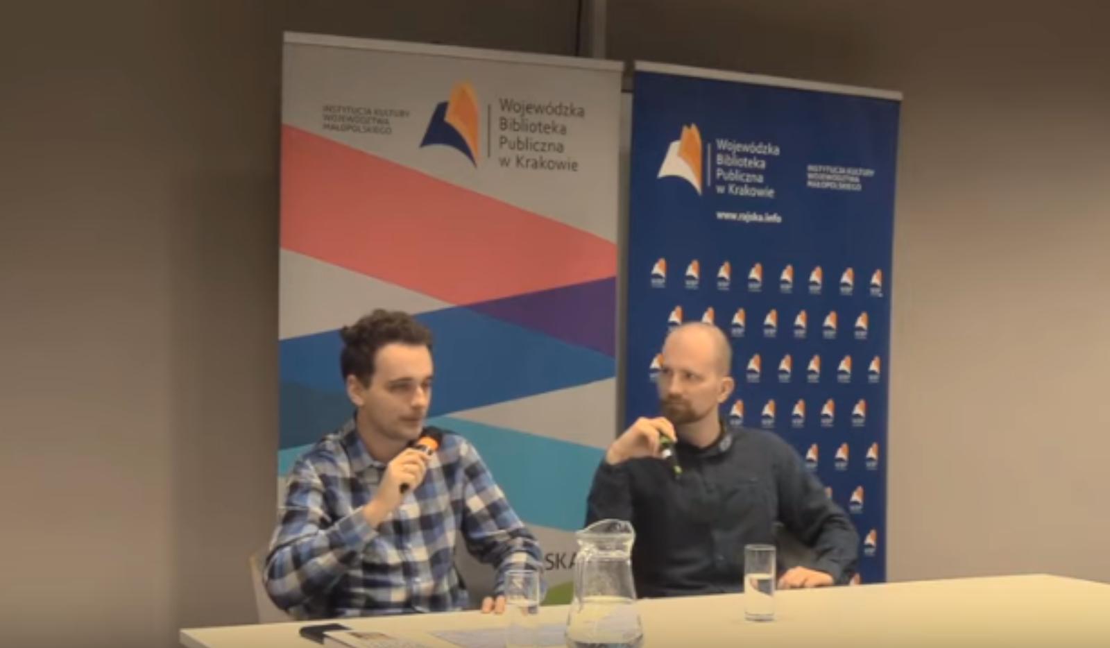 Spotkanie autorskie w Krakowie