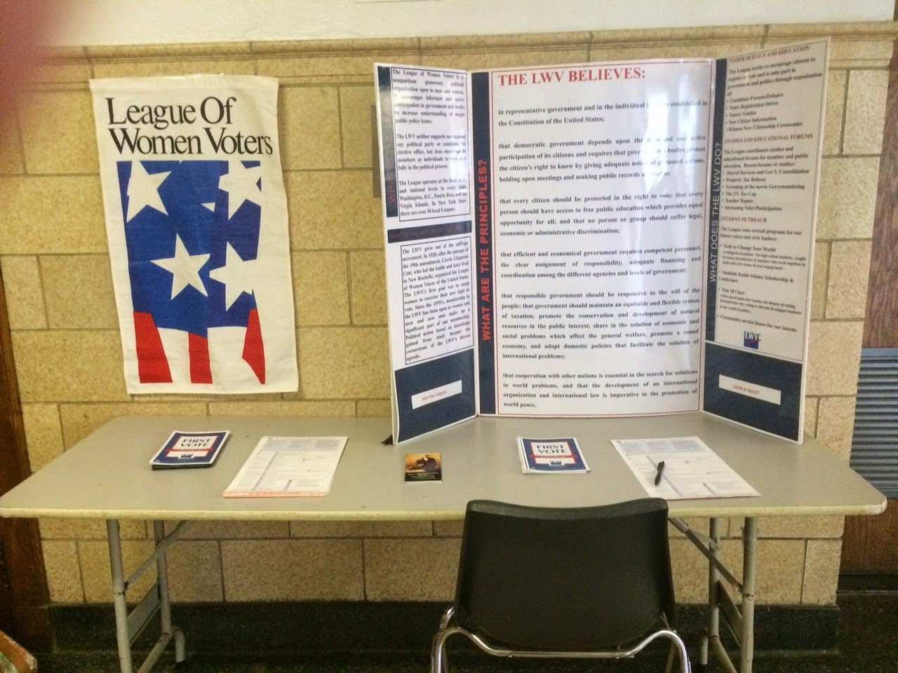 LWV at RYE HIGH