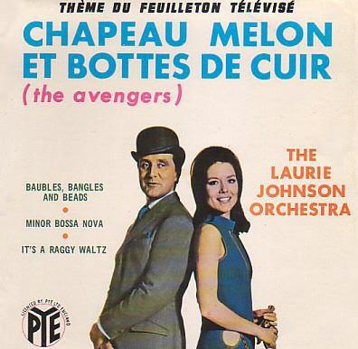 Tv soundtracks chapeau melon et bottes de cuir - Chapeau melon et bottes de cuir purdey ...