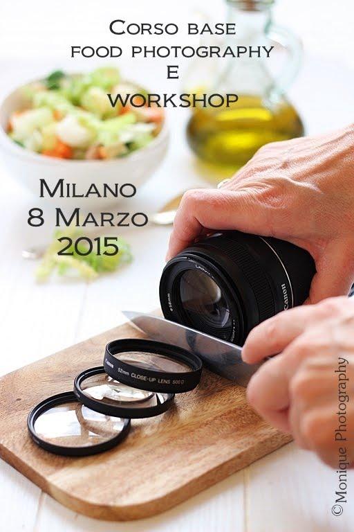 CORSI DI FOOD PHOTOGRAPHY