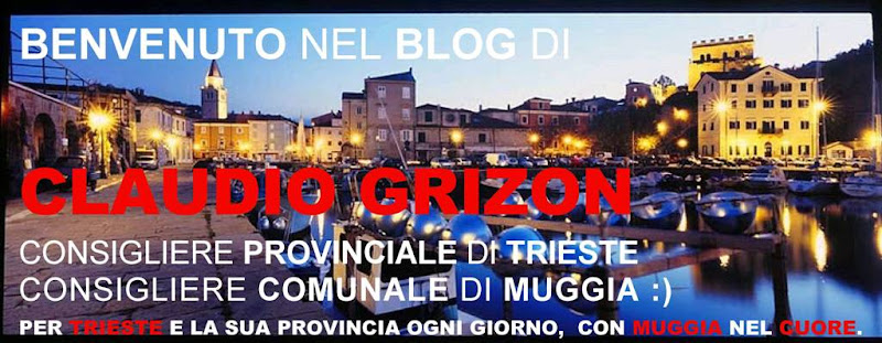 """IL BLOG DI CLAUDIO GRIZON"""