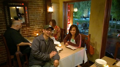 John Gamboa and his wife at Zuzu Napa