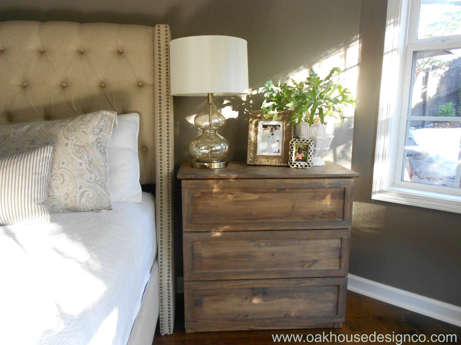One Room Challenge-Week 3 {The Master Bedroom Redo} - Oak House ...