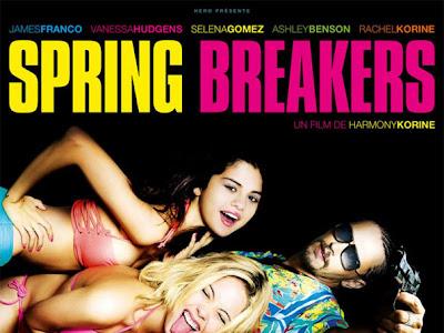 El reparto de Spring Breakers en nuevo cartel para el mercado francés