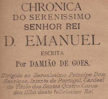 DAMIÃO DE GOES