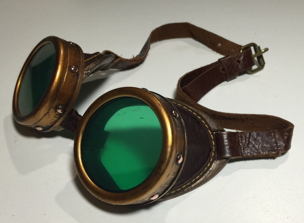 Pacific Ambitions Creations: DIY Steampunk Goggles ...