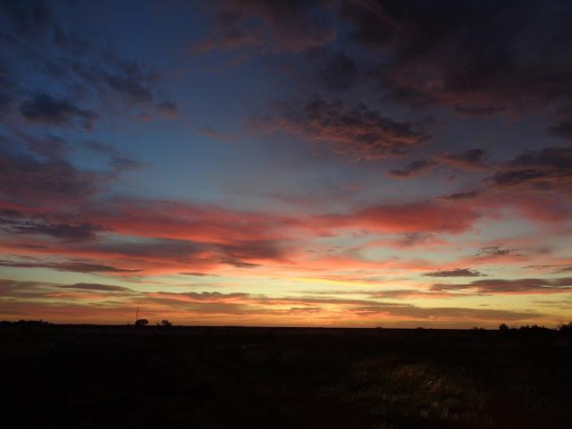 Sunset Over Port Pirie