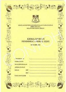 Contoh Folio Moral Tingkatan 4 | Consejos De Fotografía