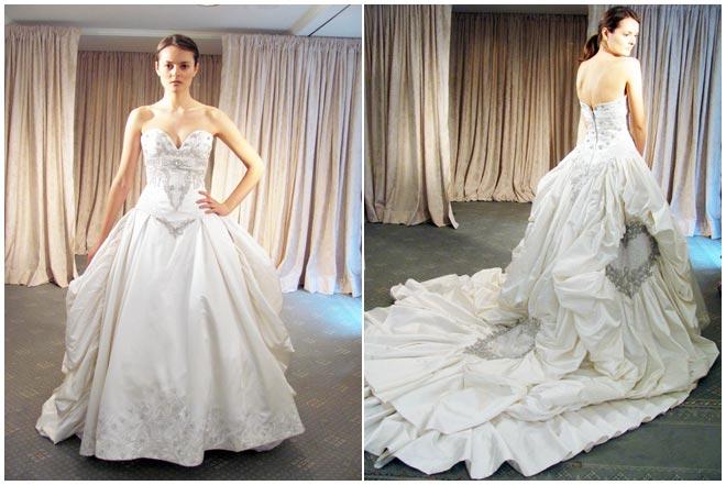 WEDDING DRESSES: St. Pucchi Spring 2012