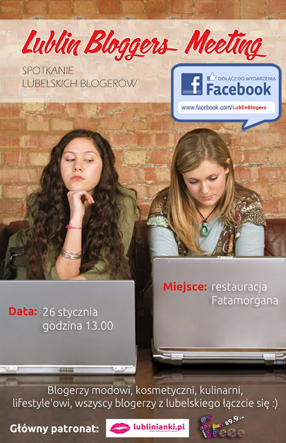 Lublin Blogger's Meeting 26.01.2013 ♥!