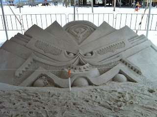 2012 Sand Sculpture Contest along Navarre Beach