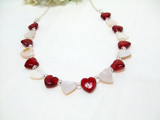 My Hearts On A String Necklace by trusk4u