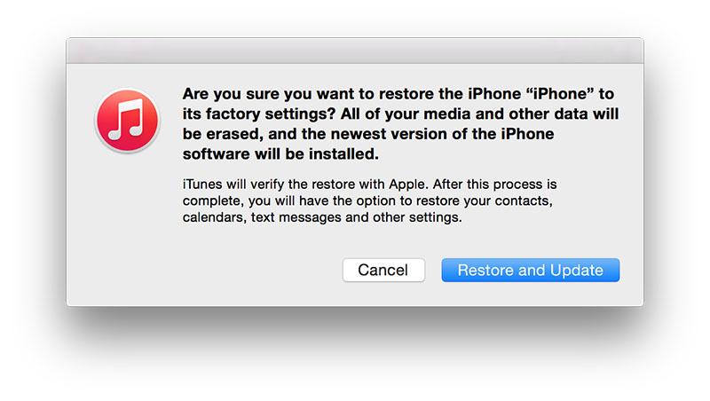 Restore iOS 9 to iOS 8.3