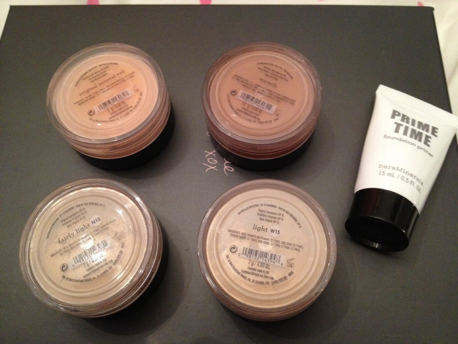 bareminerals get started kit light