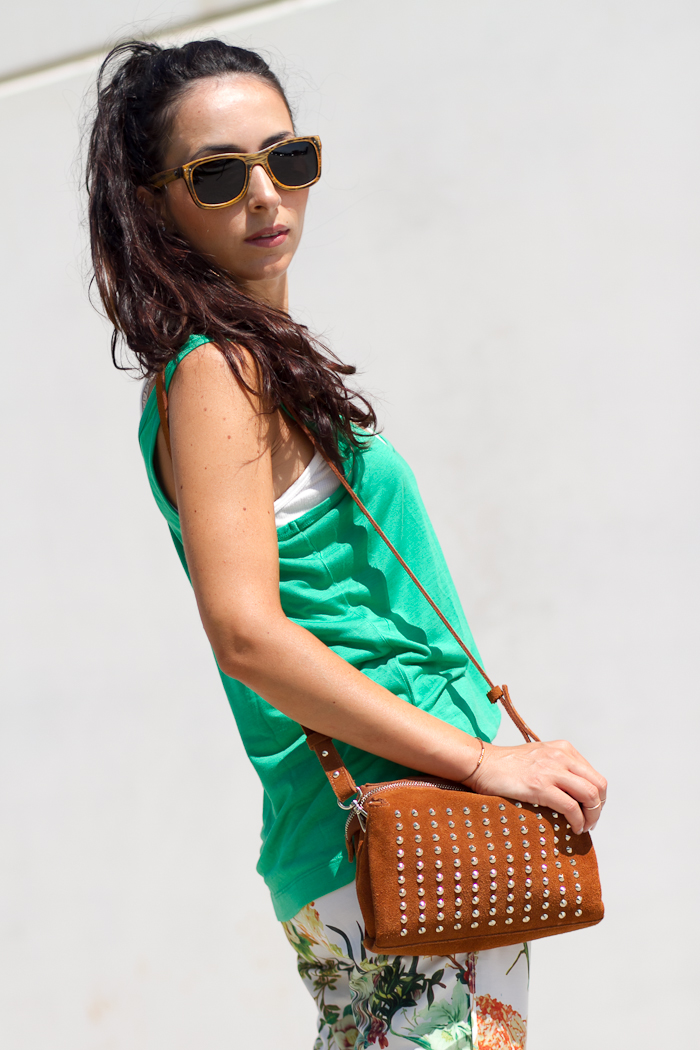 Green and Siempre Verde sunnies