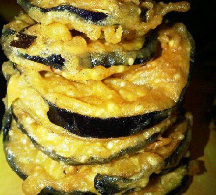 Aubergine Fritters Recipe